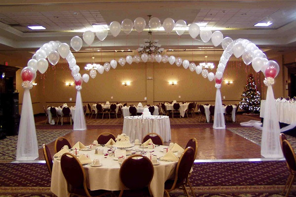 5 Balloons Decoration Ideas For Wedding