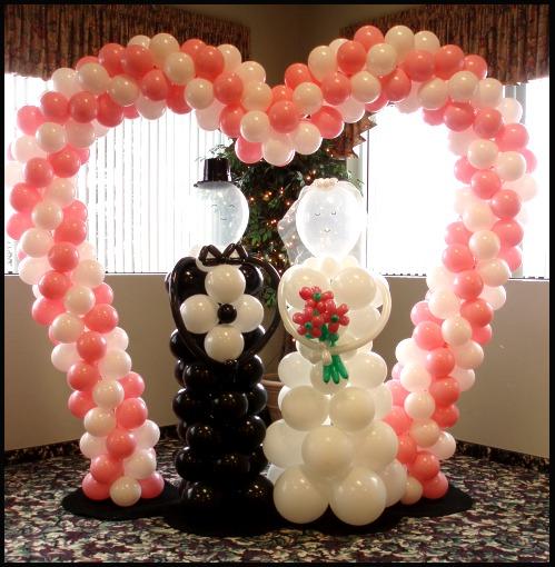Ways To Include Balloon In Wedding Reception