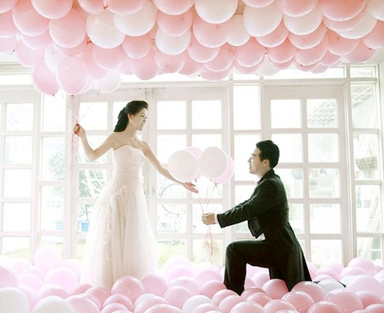 8 Wedding Celebration Ideas with Balloons