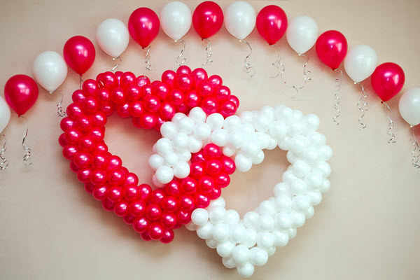 Creative Ideas To Celebrate Valentine's Day With Balloons