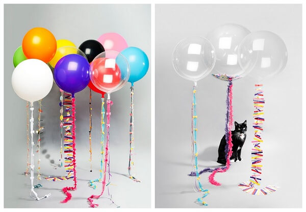 How To Make Balloon Decorations Without Helium?