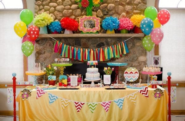 10 Simple Birthday Decoration Ideas At Home With Balloons