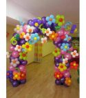 Flower Balloon Arch