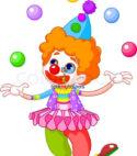 Dancing + Juggling + Games Clown Combo