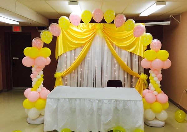 Latest and Trending Balloon Decorations fora Home Birthday Party in Bangalore