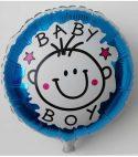 Baby Boy Round Foil