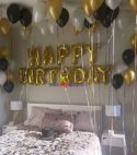40 Helium + Happy Birthday Foil