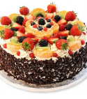 Fruit Forest Cake