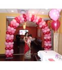 Polka Dot Balloon Arch