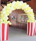 Pop Corn Balloon Arch