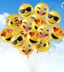 Emoji Foil Balloons Bouquet