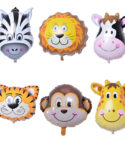 Jungle Series – 6 pcs – Helium Filled