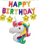 Unicorn Happy Birthday Combo