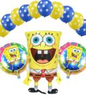 Sponge Bob Foil & Balloons Combo