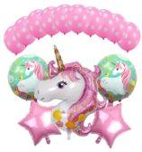 Unicorn 5 Foil & 10 Balloons Combo