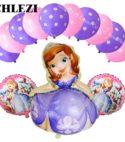 Sophia 5 Foil & 10 Balloons Combo
