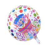 Happy Birthday Round Foil