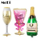 Wine Whiskey Beer Champagne Combo – 4 Pcs