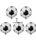Football Helium Foil – 5 pcs