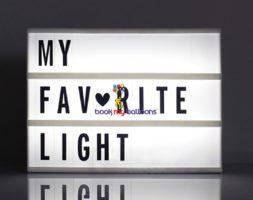Cinematic Lightbox Led