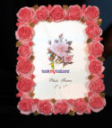 Designer Rose Photo Frame