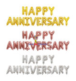 Happy Anniversary Foil Set