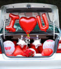 Car I Love You Decor