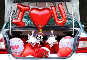 Car I Love You Decor