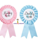 Blue Pink Daddy Mommy To Be