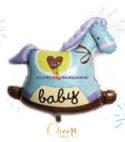 Baby Blue Pony