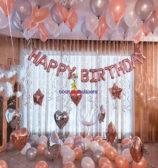 Rose Gold Birthday Combo 2
