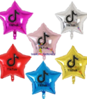 Customised Star Foil – 6 pcs
