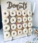 Wooden Donut Wall – 20 pcs
