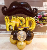 Moustache Balloon Bouquet