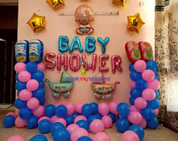 Elegant Baby Shower Decor